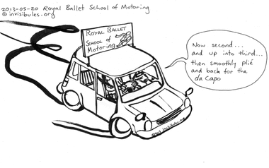 2013-05-20 Royal Ballet School of Motoring