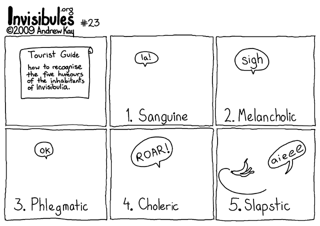 #23 Humours