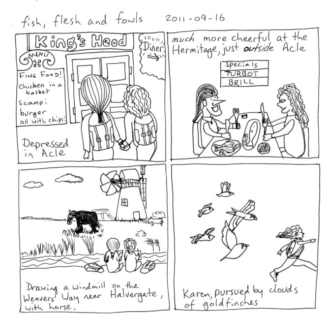 2011-09-16 Fish, flesh and fowls