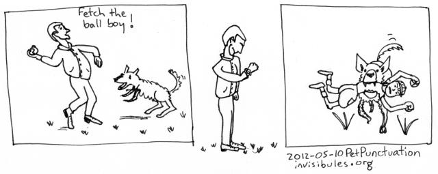 2012-05-10 Pet Punctuation