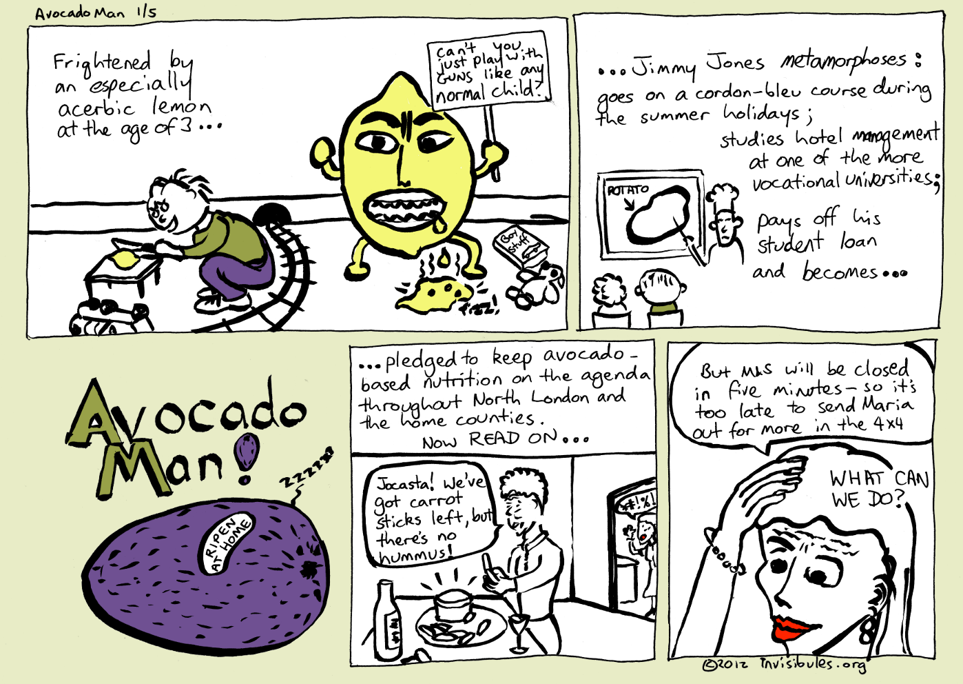 2012-11-04 Avocado Man 1/5