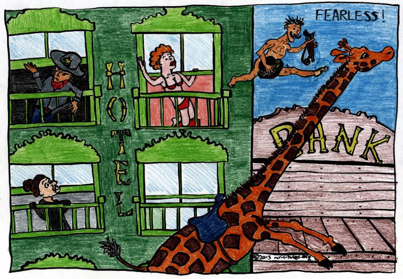 2013-06-27 Giraffe Riders 5 – Fearless