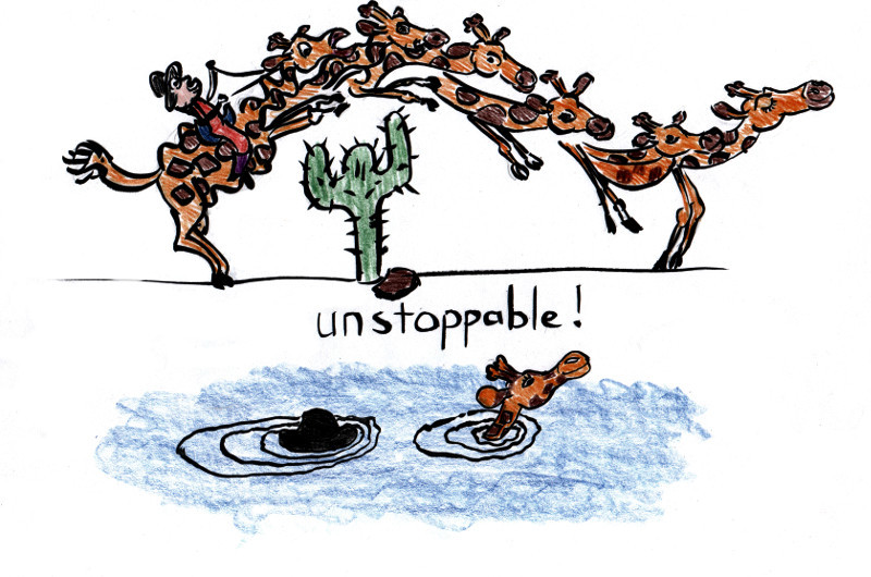 2013-06-28 Giraffe Riders 6 – Unstoppable