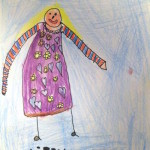 Libby-Sue's latest dress design