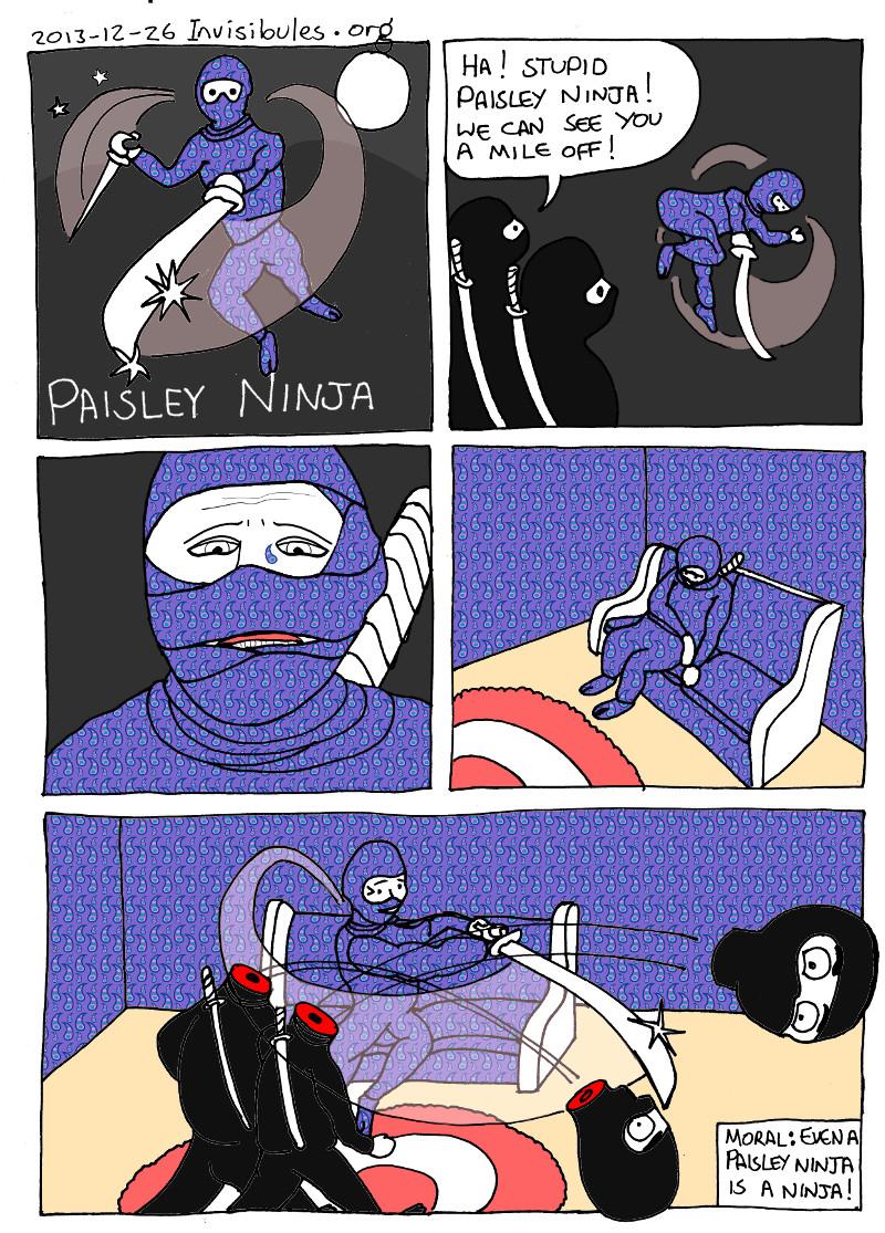 2013-12-26 Paisley Ninja