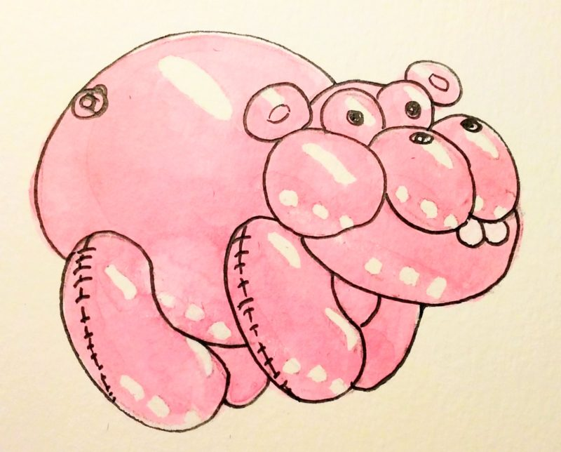 2019-02-27 Jeff Koon's Pet Hippo