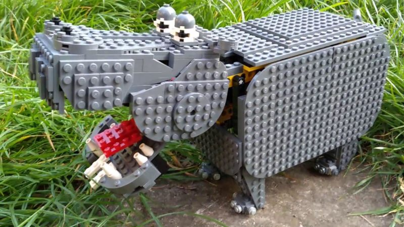 2020-04-25 Lego Hippopotamus